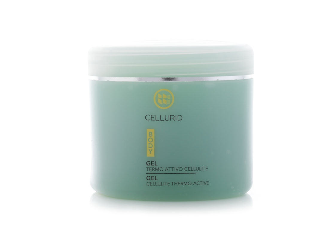 Gel corpo termoattivo ad effetto riducente anti cellulite